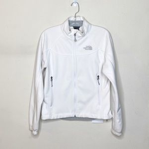 The North Face White Full Zip Jacket Small
